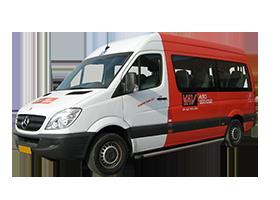Button voor het aanbod van rolstoelbussen bij KAV Autoverhuur