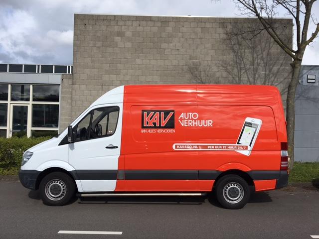 Bestelwagen huren KAV Autoverhuur